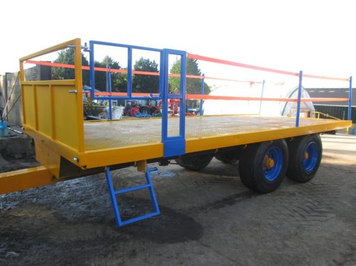 20 foot Twin Axle Flat Trailer For Hire