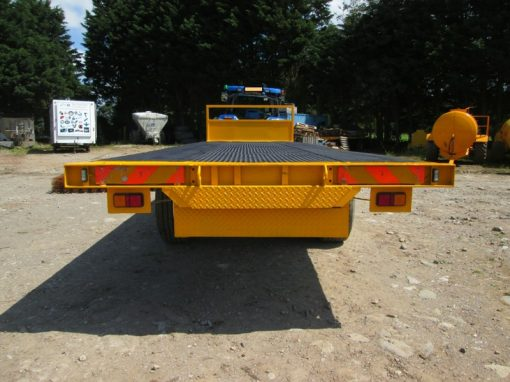 24 foot Twin Axle Highway Flat Trailer For Hire