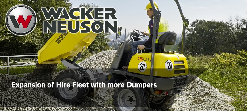 Coming Soon to the Hog Hire Fleet of Dumpers