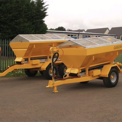 Cuthbertson Towable Gritter and Salt Spreader For Hire