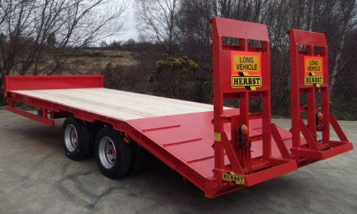 Herbst Beavertail Low Loader Trailer For Hire