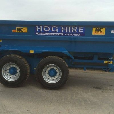 NC 14 Ton Dump Trailer For Hire