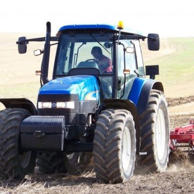 New Holland TM120 Tractor for hire
