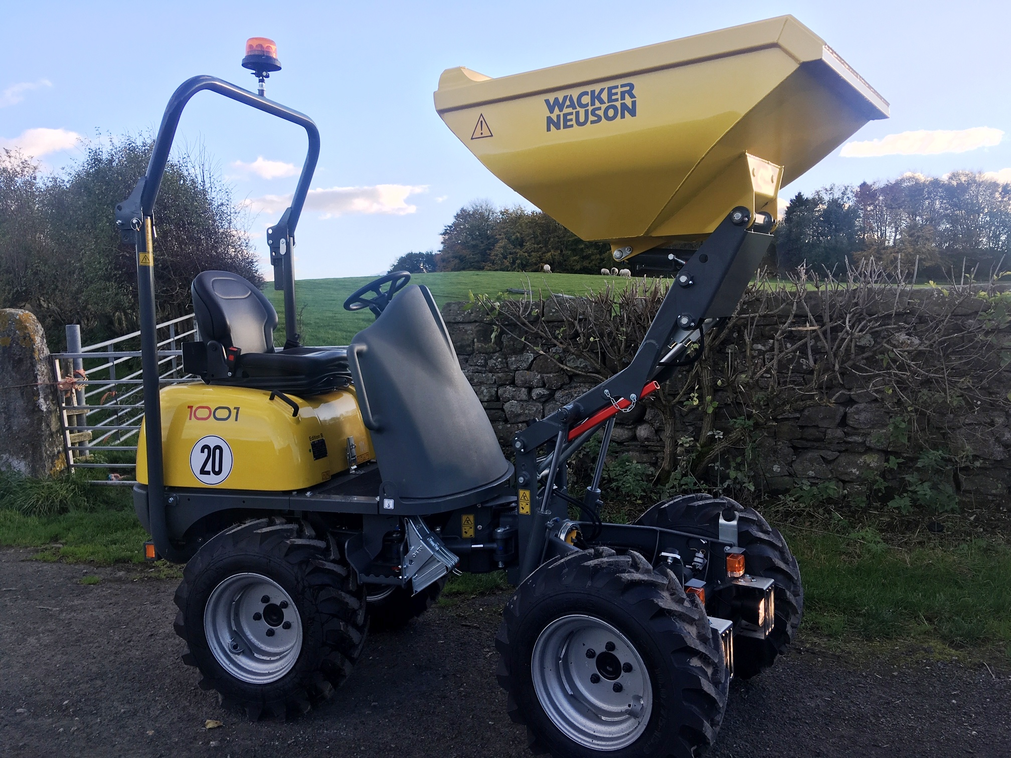 Wacker Neuson 1001 Dumper Added To Our Hire Fleet