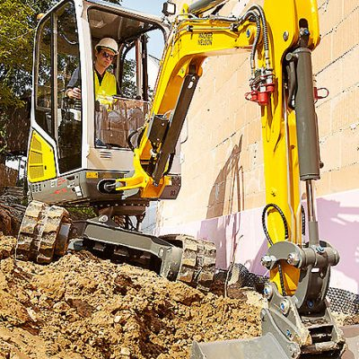 Wacker Neuson ET24 Mini Digger for hire