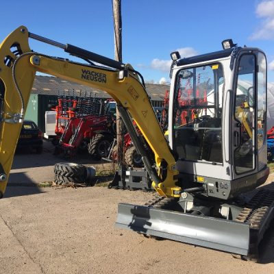 Wacker Neuson EZ28 Mini Digger for hire