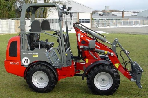 Weidemann 1250 Hoftrac Wheel Loader For Hire
