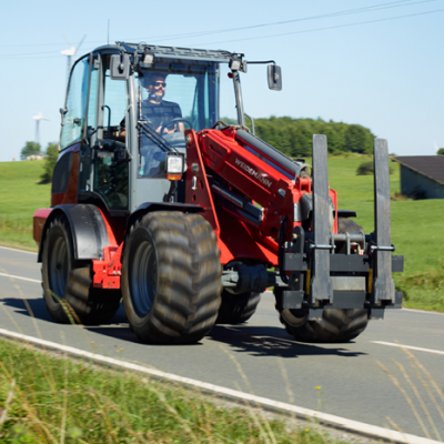 Weidemann 4080T Wheel Loader For Hire