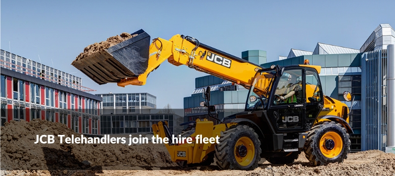 JCB 14 Metre Telehandlers Join Hire Fleet