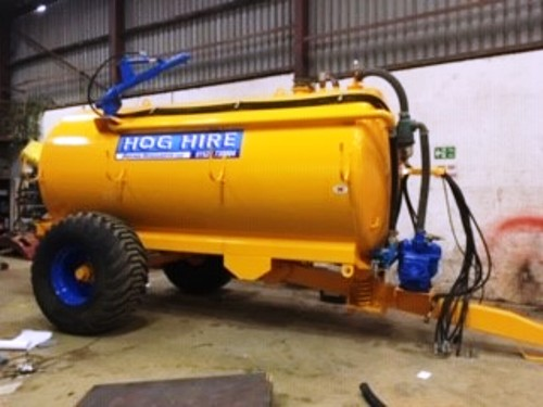 2000 Gallon Raingun Tanker For Hire