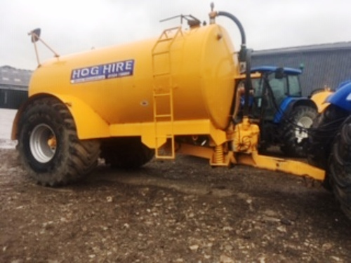 2500 Gallon Water Bowser For Hire
