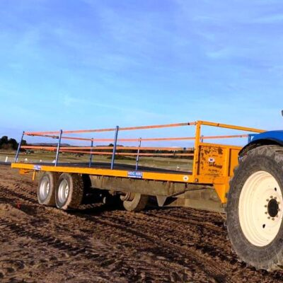 40 Foot Flat Trailer For Hire