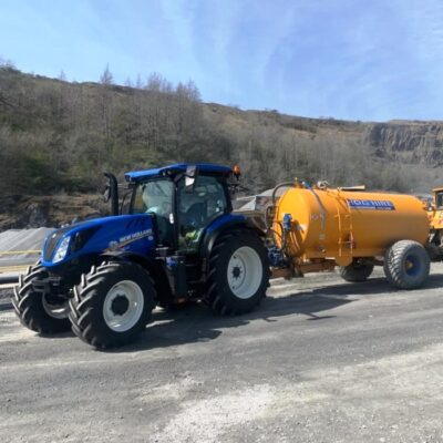 New Holland T6.160 Tractor For Hire UK